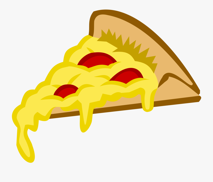 Pizza French Fries Fast Food Italian Cuisine Clip Art - Pizza Slice Vector Png, Transparent Clipart