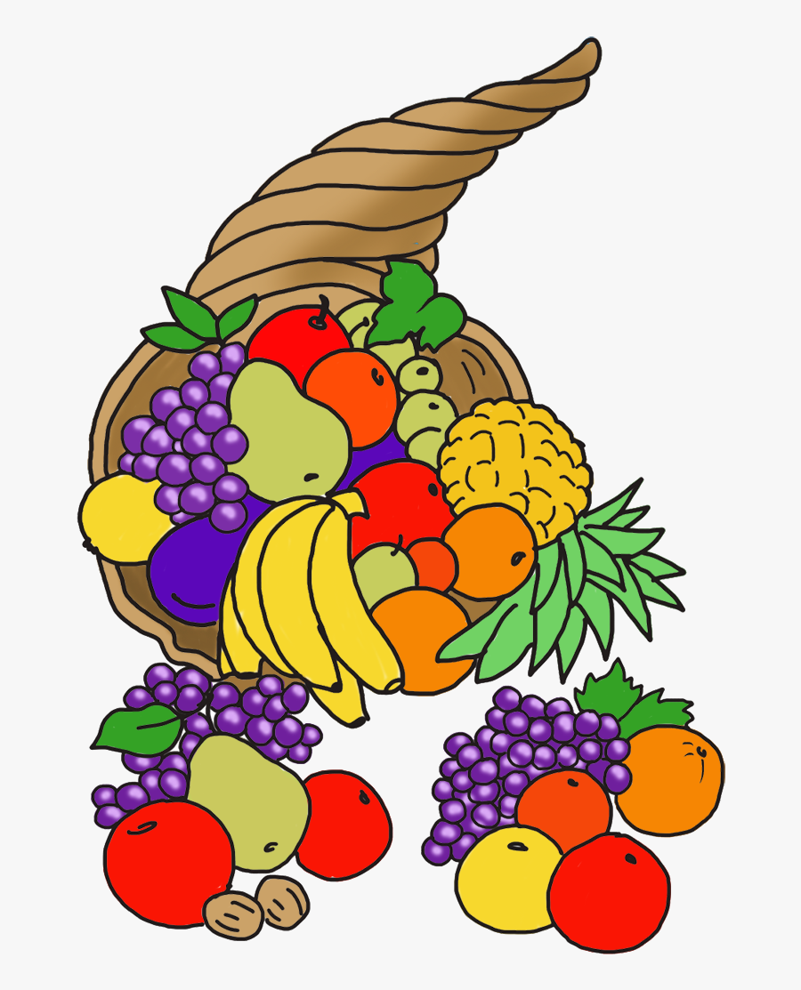 Table Captivating Thanksgiving Clipart 18 Cornucopia - Happy Thanksgiving Clip Art Cornucopia, Transparent Clipart