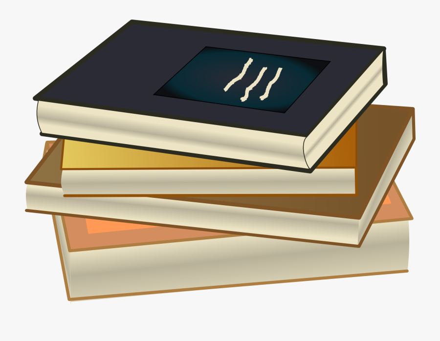 Stack Of Books Book Clipart Free Graphics Of Books - Books Drawing With Color, Transparent Clipart