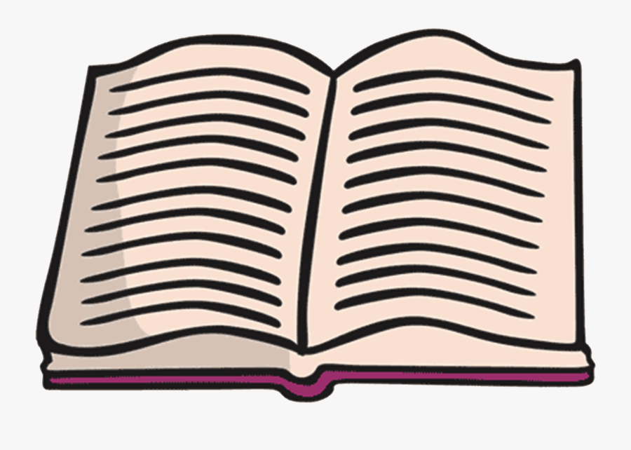 Open Book Clipart - Book Png In Clip Art, Transparent Clipart