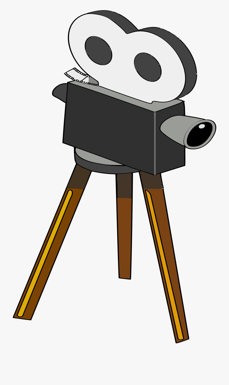 Transparent Camera Clipart - Clip Art Film Camera, Transparent Clipart