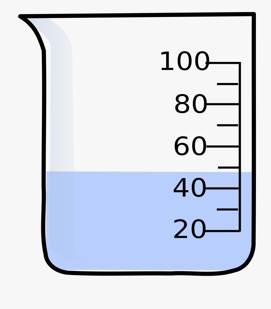 Science Volume Clipart - Dibujo De Vaso De Precipitados, Transparent Clipart