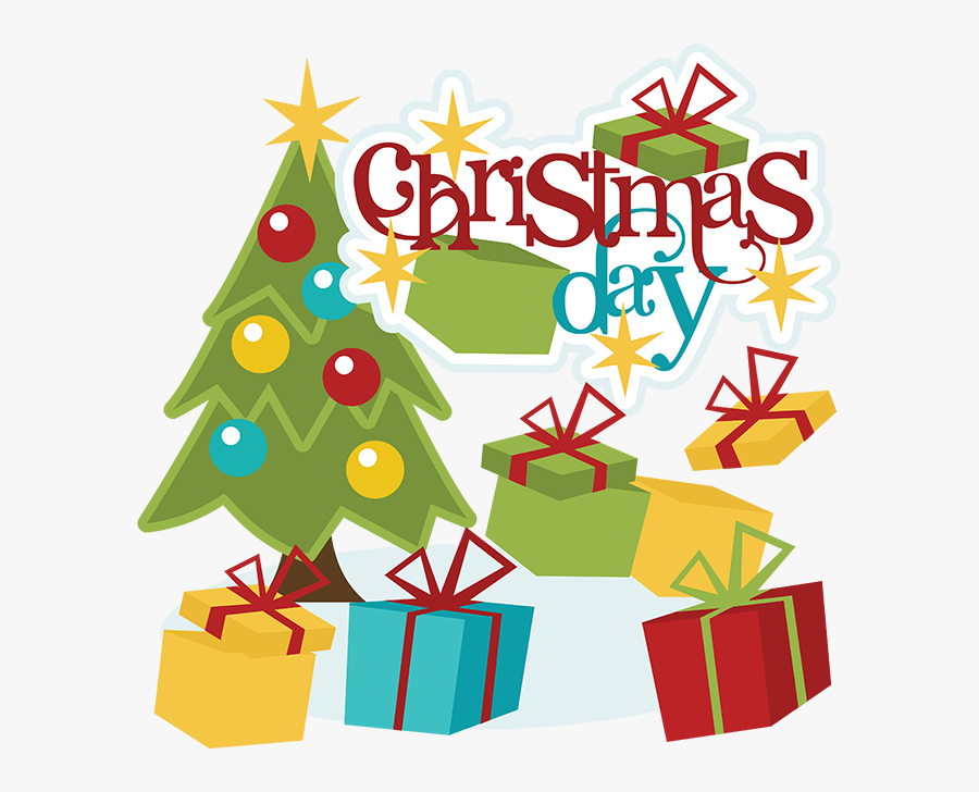 25 December Christmas Day, Transparent Clipart