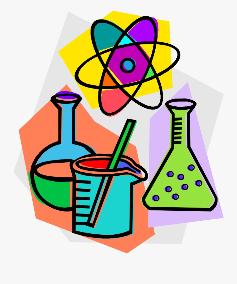 Hd Chemistry Laboratory Chemical Reaction Clip Art - Chemistry Clipart, Transparent Clipart
