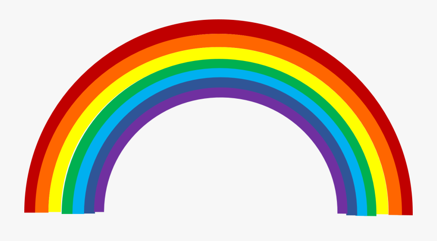 Free Rainbow Clipart - Transparent Background Rainbow Clipart, Transparent Clipart