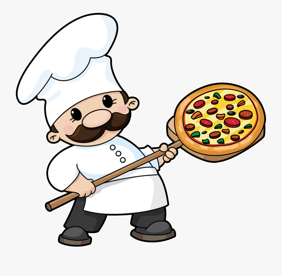 Pizza Clipart Parlor For Free And Use In Transparent - Pizza Chef Clipart, Transparent Clipart