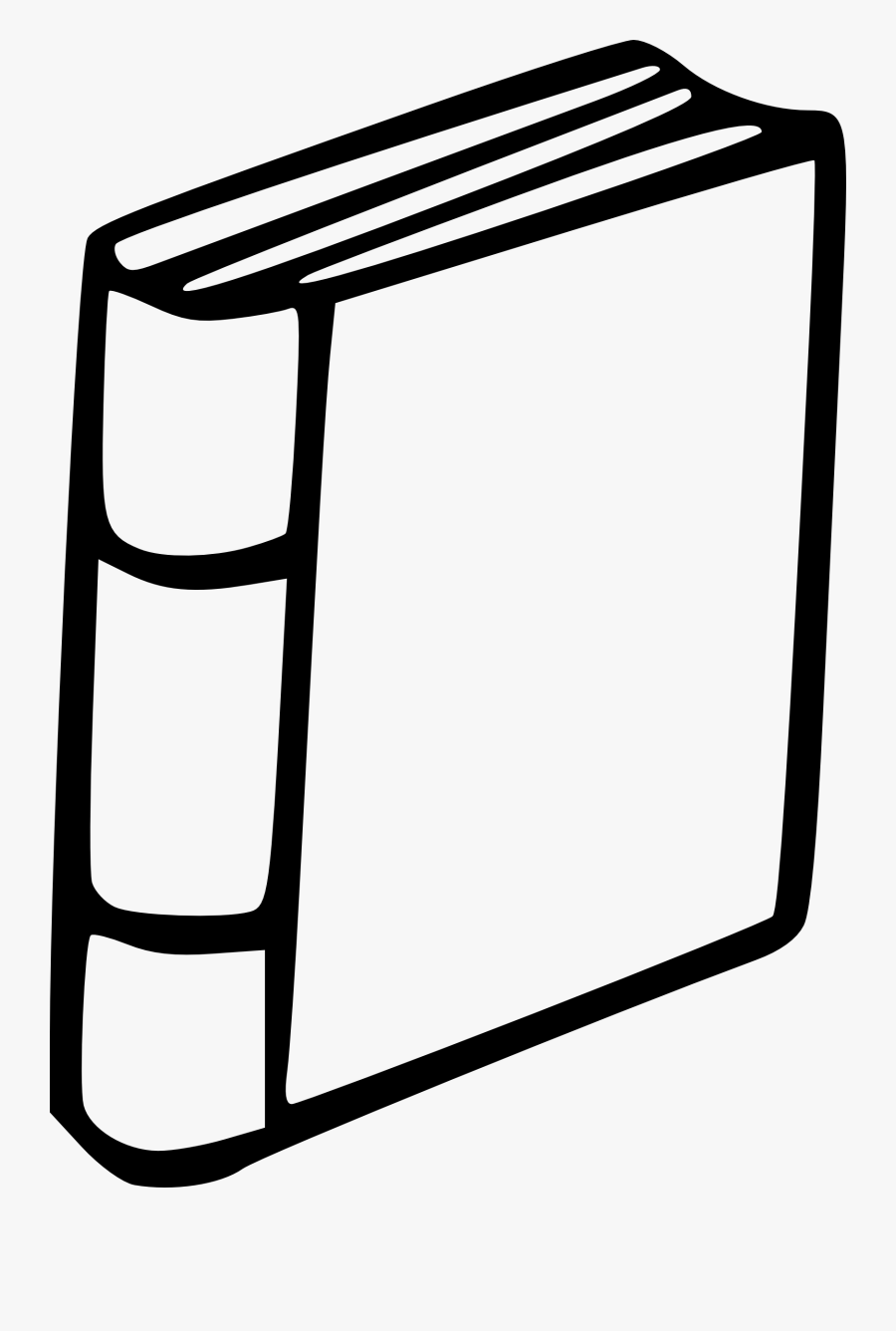 Other Clipart Eci Book - Book Spine Clip Art, Transparent Clipart