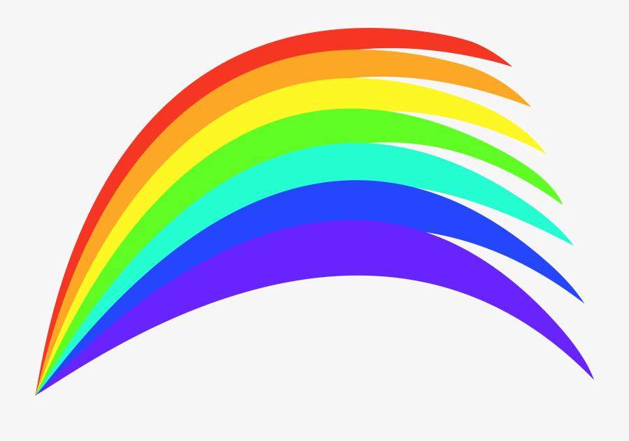 Rainbow Clipart Fire - Rainbow Clip Art, Transparent Clipart