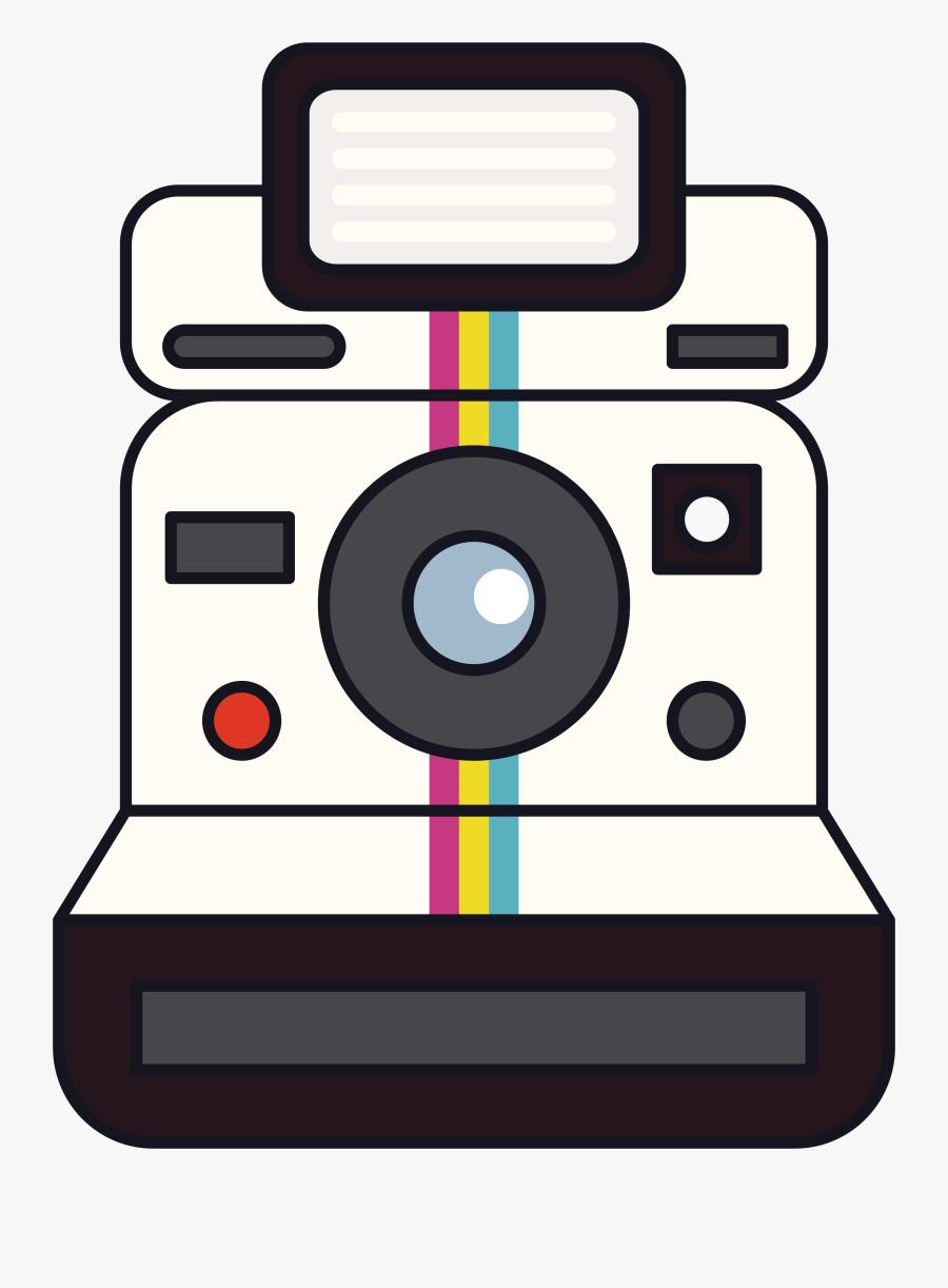 Camera Clipart For Download - Transparent Background Polaroid Camera Clipart, Transparent Clipart