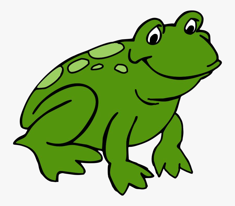 Cute Frog Clipart - Frog Clipart, Transparent Clipart