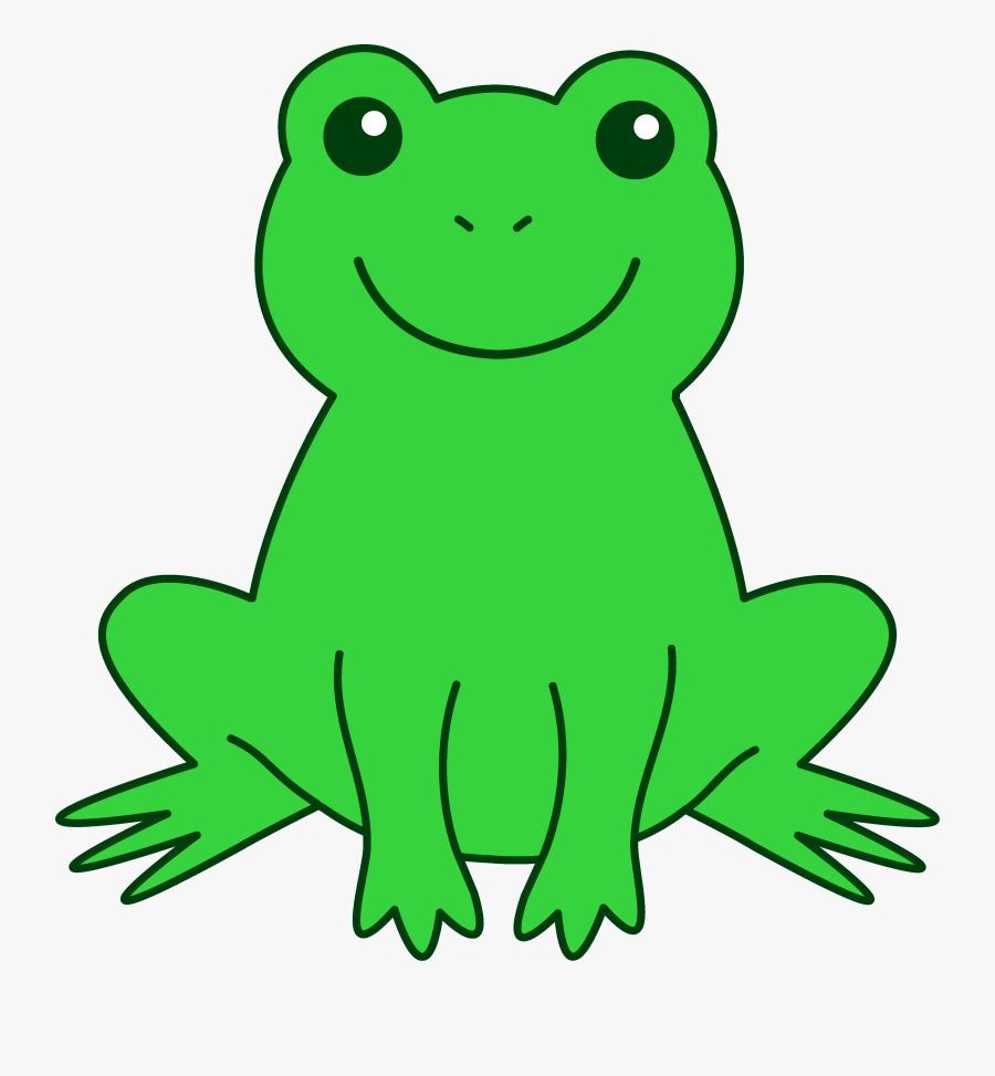 Free Cute Frog Clip Art Clipart Images - Frog Clipart, Transparent Clipart