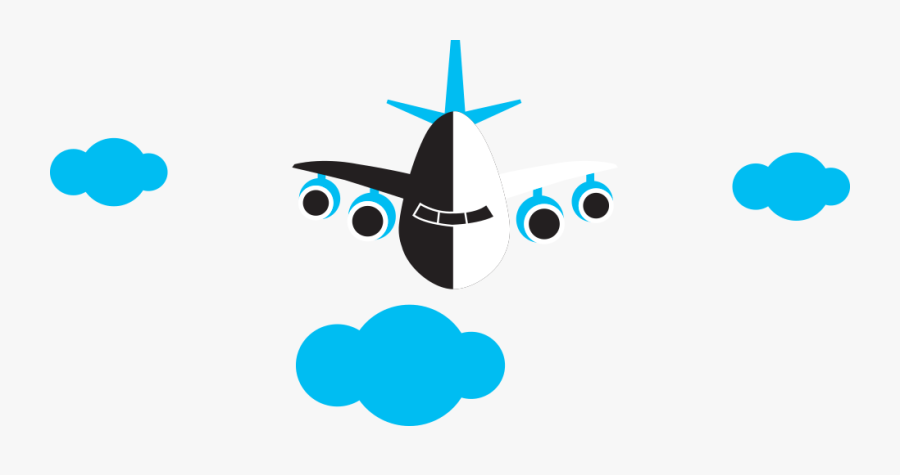 Airplane Clipart , Png Download - Wide-body Aircraft, Transparent Clipart