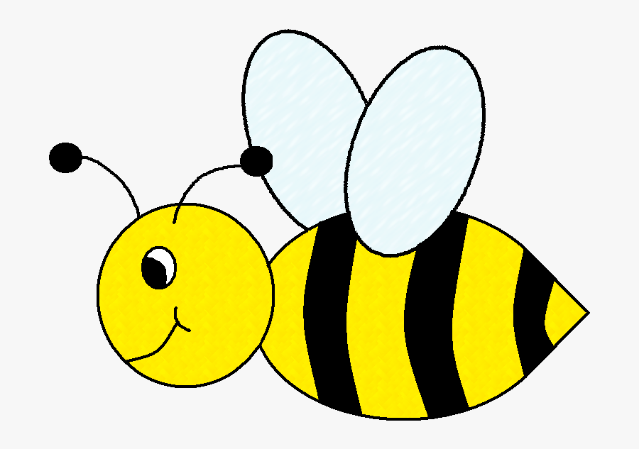 Cute Bee Clipart Free Clipart Images - Clip Art Bumble Bee Bees, Transparent Clipart