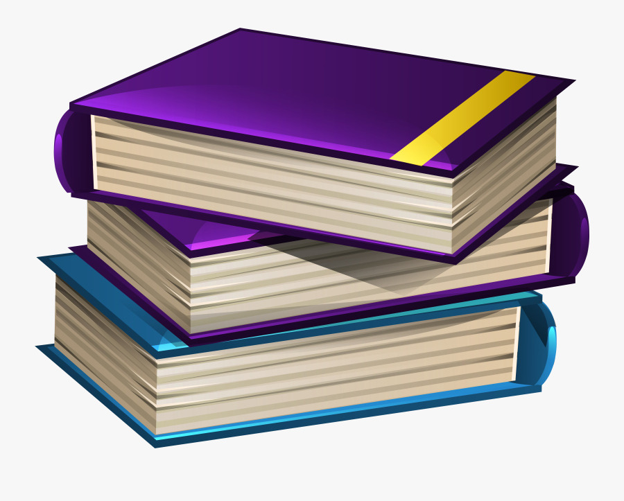 Book School Cliparts - Transparent School Books Png, Transparent Clipart