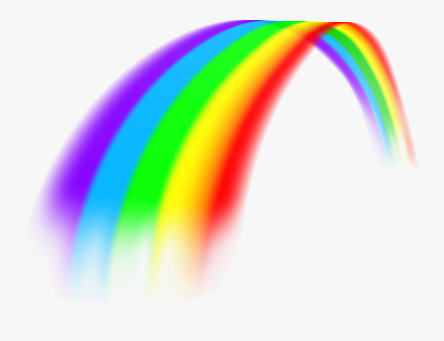 Rainbow Clipart For Download Free - Transparent Background Rainbow Png, Transparent Clipart