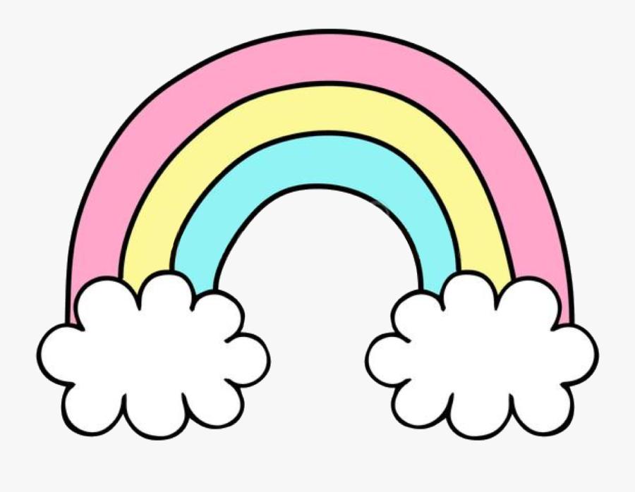 Transparent Rainbow Clip Art - Transparent Rainbow Png Background, Transparent Clipart