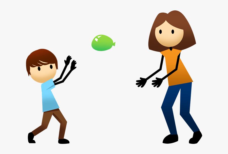 Volleyball Clipart Vector - Water Balloon Toss Clipart, Transparent Clipart