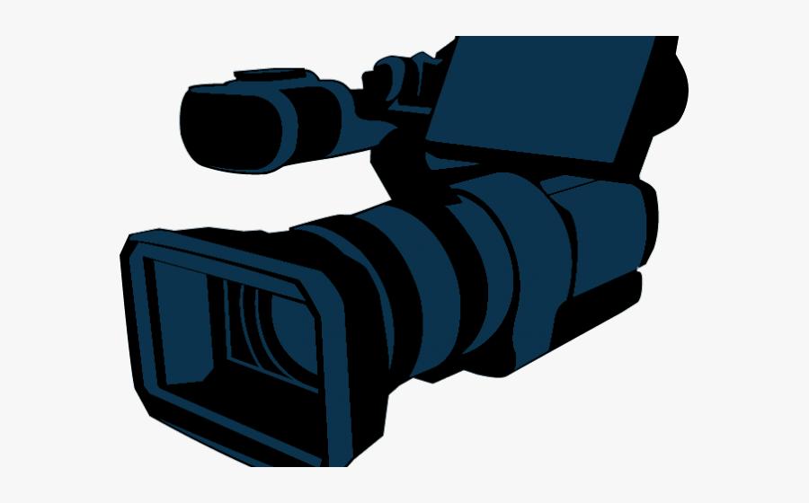 Video Camera Clipart Vide - Video Camera, Transparent Clipart