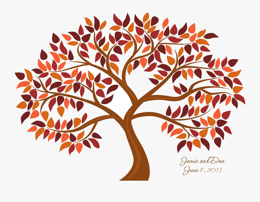 Fall Tree Trees Clipart Transparent Png - Noun Tree With Example, Transparent Clipart