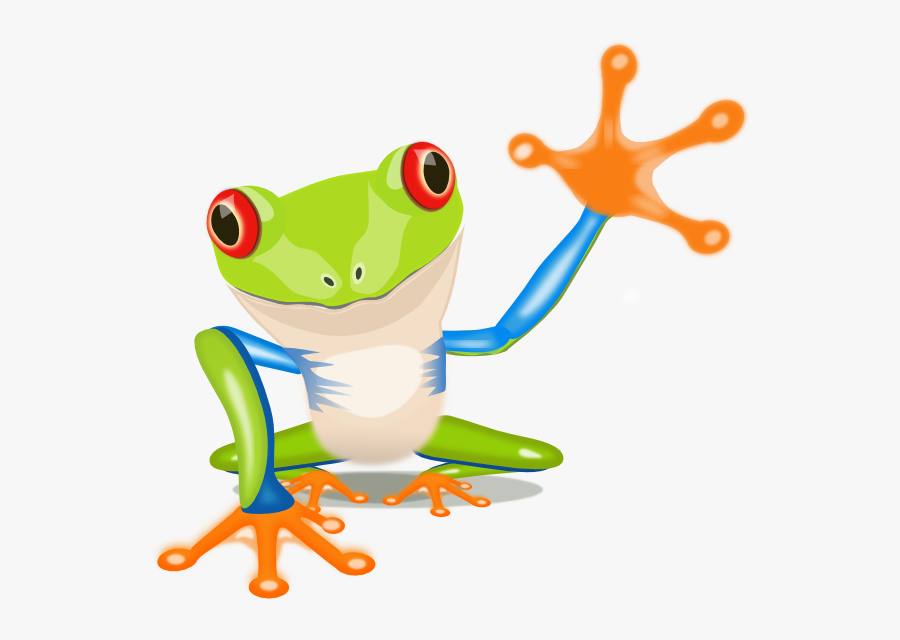Tree Frog Free - Tree Frog Clipart Png, Transparent Clipart