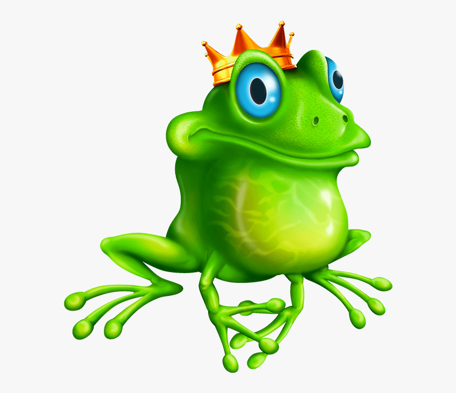 Frogs Fairy Tale - True Frog, Transparent Clipart