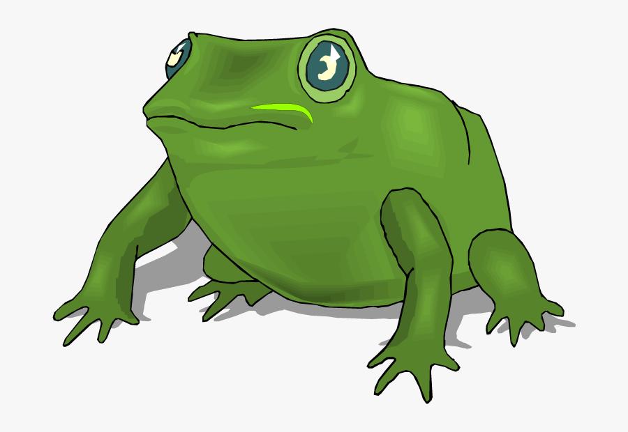 Big Frog Clipart, Transparent Clipart