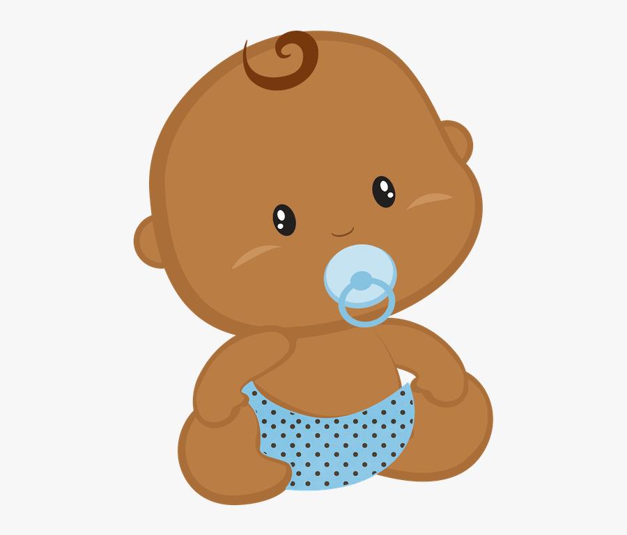 Baby Clipart Brown - Imagenes De Bebes En Dibujos, Transparent Clipart