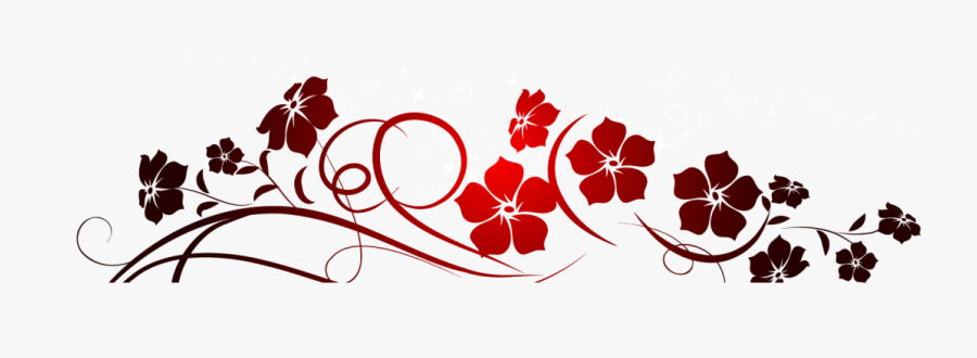 Red Flowers Decoration Png Clipart - Chanel Wallet On Chain Vanity, Transparent Clipart