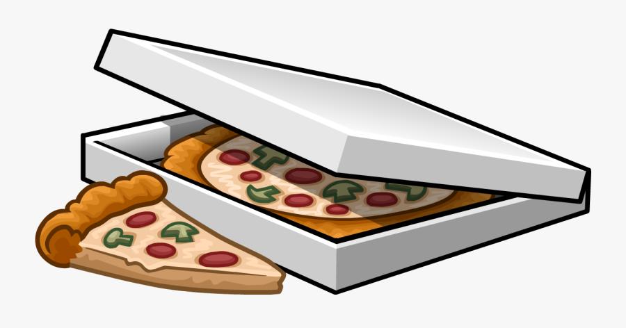 Pizza Clipart File - Pizza In Box Clipart, Transparent Clipart