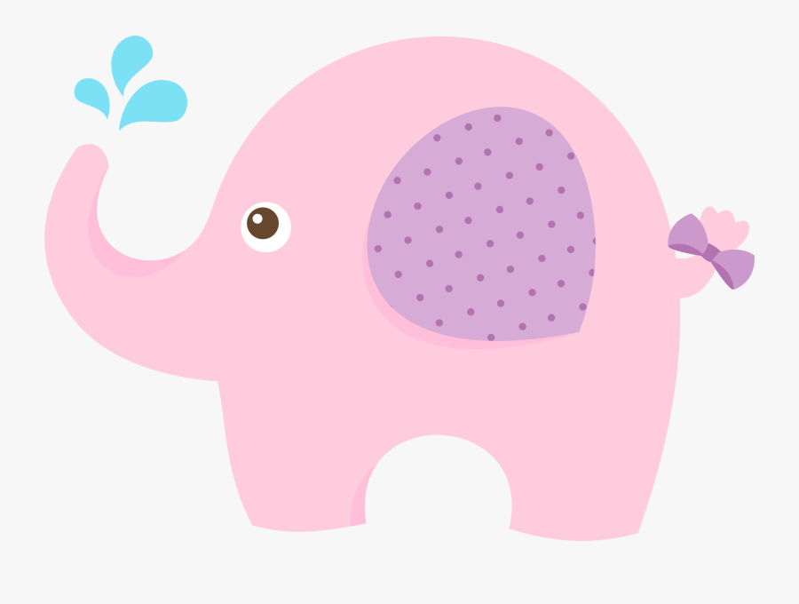 Baby Shower Elephant Infant Clip Art - Indian Elephant, Transparent Clipart