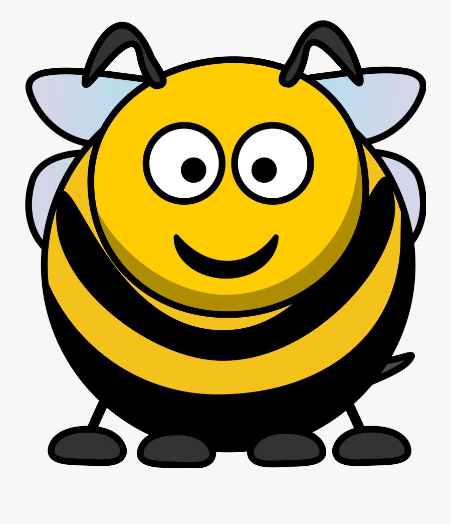 Free Bee Graphics Bumble Bees Clipart - Cartoon Clip Art Bee, Transparent Clipart