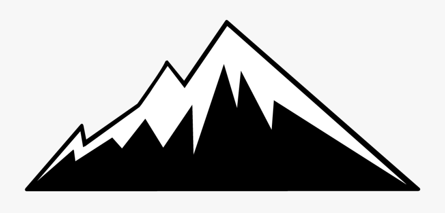 Free Mountain Clipart Mountains Clip Art Vector - Mountain Clipart Black And White, Transparent Clipart