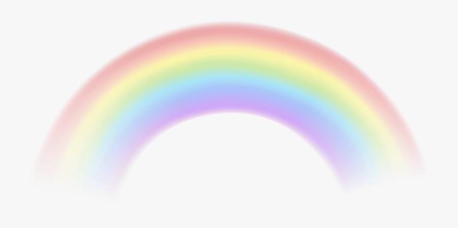 Transparent Rainbow Cliparts - Transparent Background Rainbow Png, Transparent Clipart