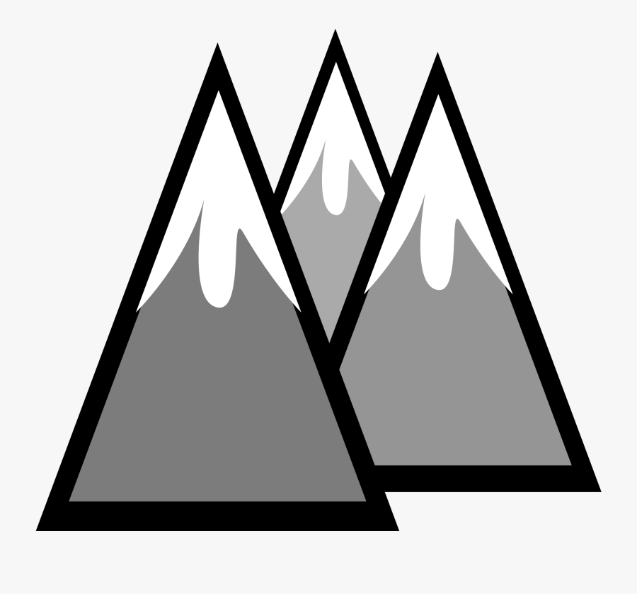 Mountain Clipart Mountains Id Pictures - Snow Capped Mountain Clipart, Transparent Clipart