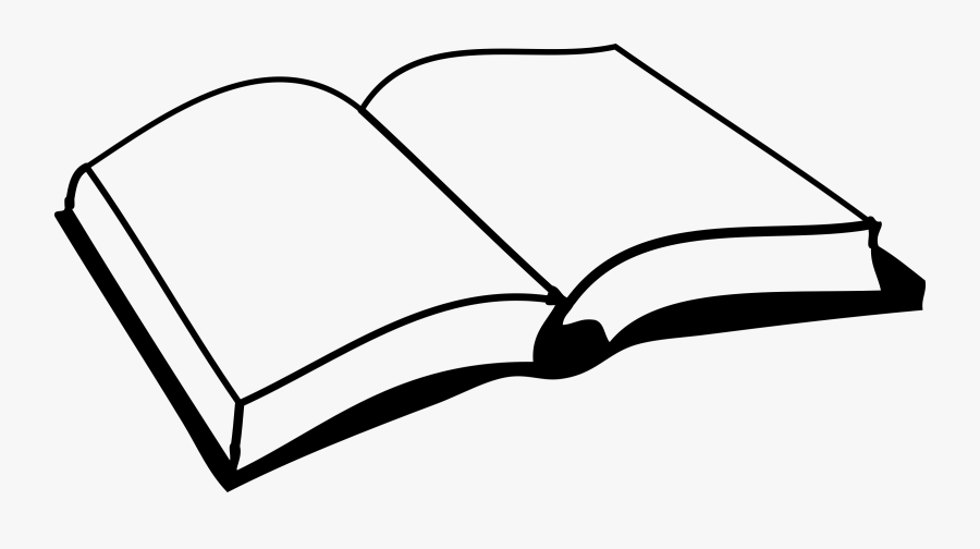 Book - Clipart - Book Clipart Black And White, Transparent Clipart