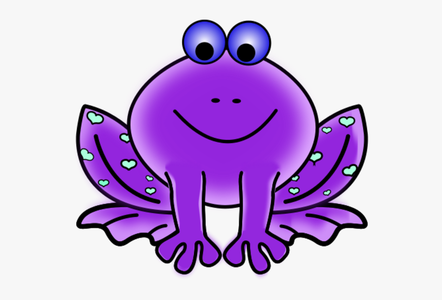 Transparent Cartoon Frog Png - Pink Frog Clip Art, Transparent Clipart