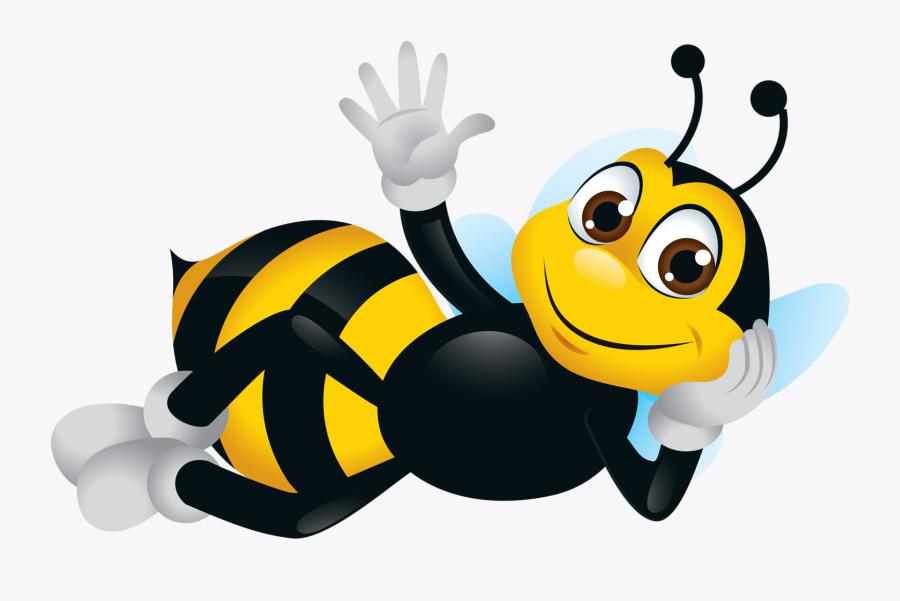 Bee Theme Decoupage Bee Clipart Cartoon Bee Clip Art Cartoon Bee Free Transparent Clipart Clipartkey