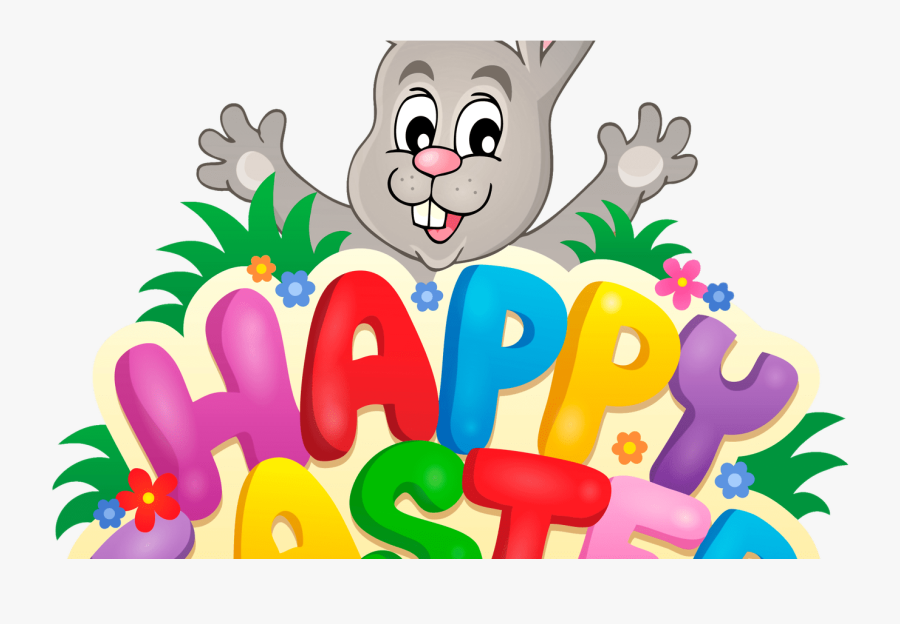 Easter Bunny Happy Easter Clip Art Cliparts - Clip Art Happy Easter Bunny, Transparent Clipart