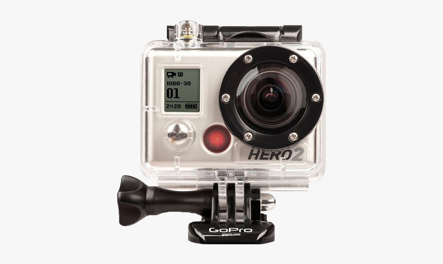 Gopro Cameras Clipart - Gopro Hd Hero 2, Transparent Clipart