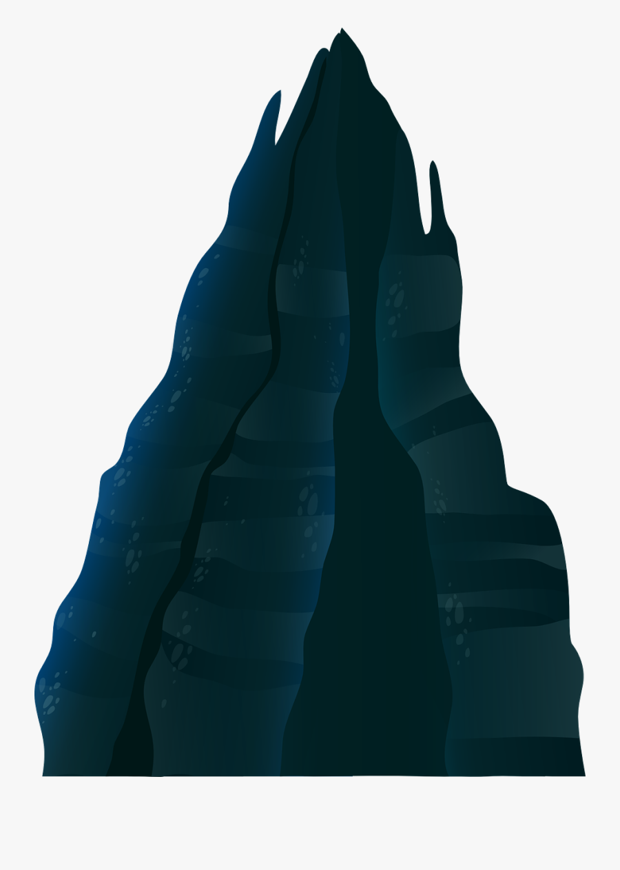 Free Dark Mountain Clip Art - Dark Mountain Clipart, Transparent Clipart