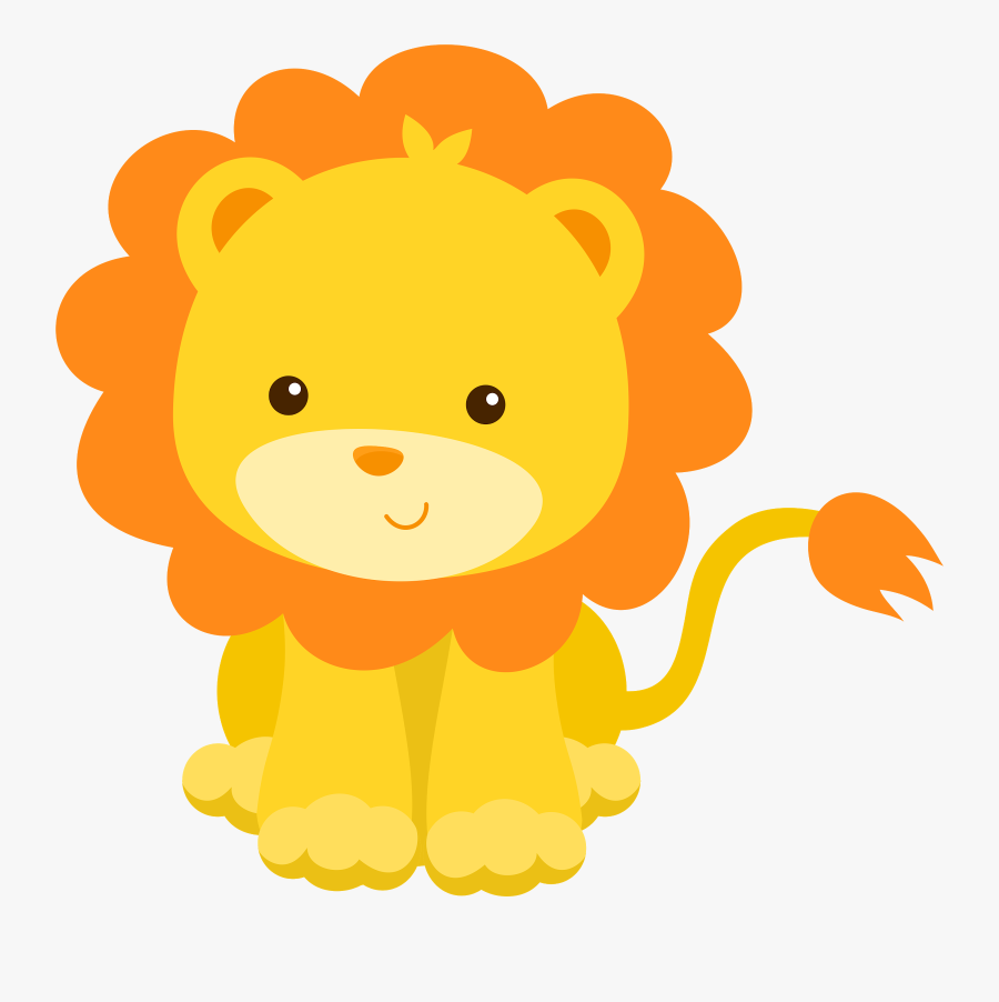 Animals And Their Babies Clipart At Getdrawings - Baby Lion Clipart, Transparent Clipart