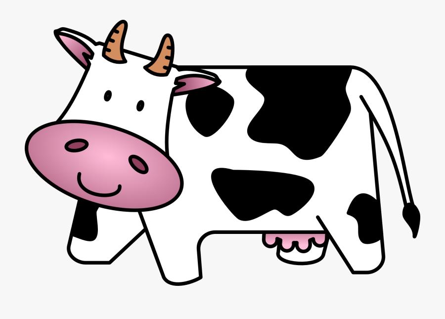 Cow Clip Art Free Cartoon Clipart Images - Cow Clipart, Transparent Clipart
