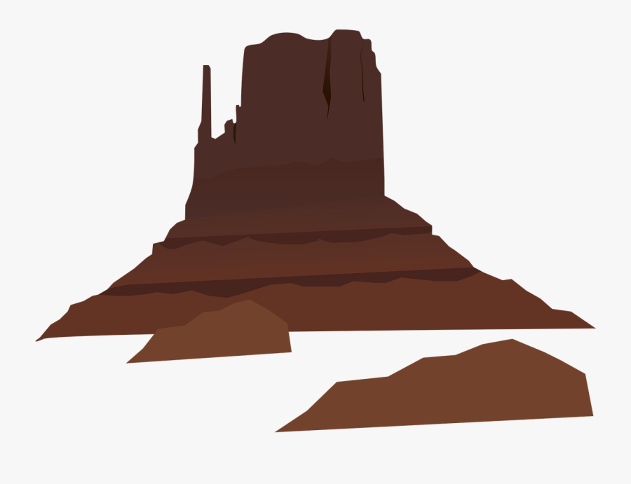 Mountain Free To Use Cliparts - Desert Mountain Vector Png, Transparent Clipart