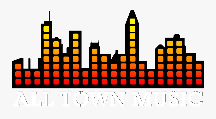 All Town Music Clipart , Png Download - Music Town Png, Transparent Clipart