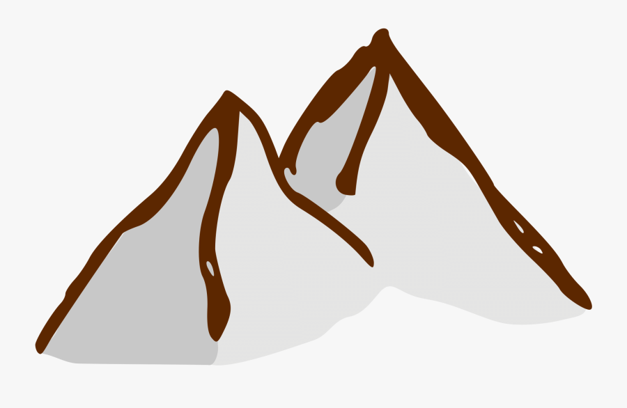 Mountain Clipart Rpg - Mountain Symbol For Maps, Transparent Clipart