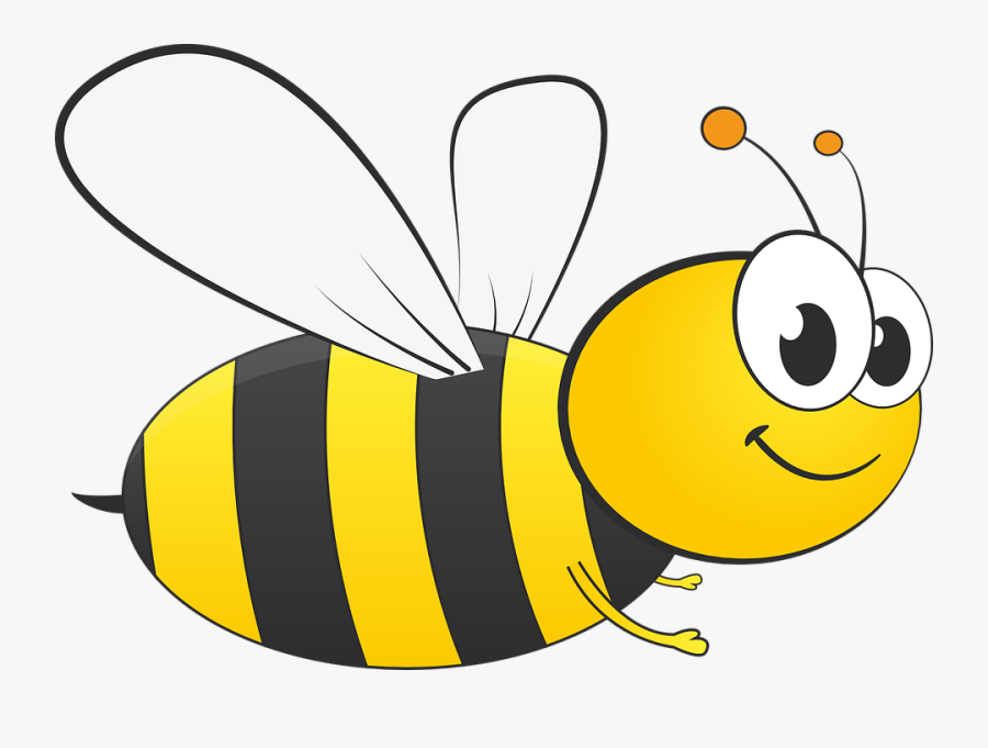 Bee Clipart Of Honey And Busy Transparent Background - Transparent Background Bee Clipart, Transparent Clipart