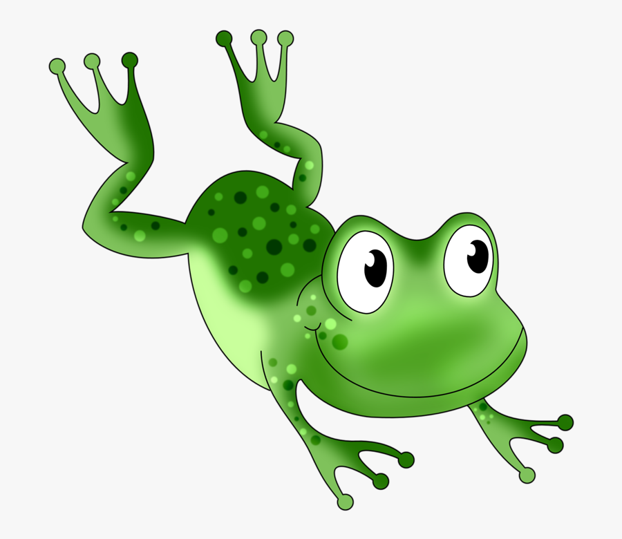 Transparent Frogs Clipart - Jumping Frog Clipart Png, Transparent Clipart