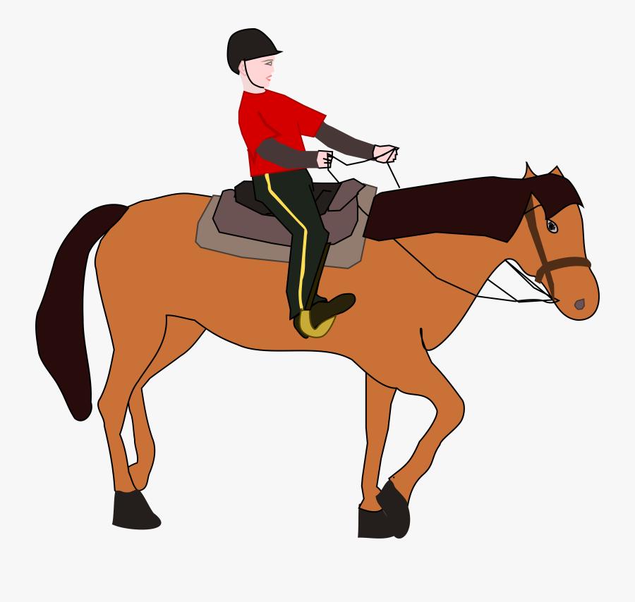 Horse Riding Free Clipart - Horse Riding Clipart, Transparent Clipart