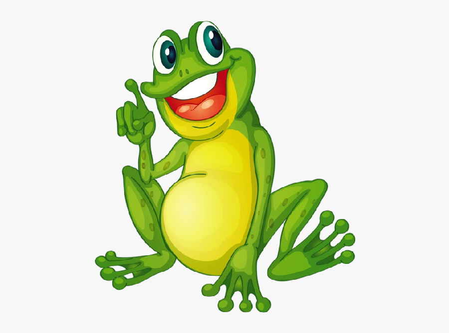 Funny Frogs Cartoon Picture Images Clipart - Cartoon Frog Png, Transparent Clipart