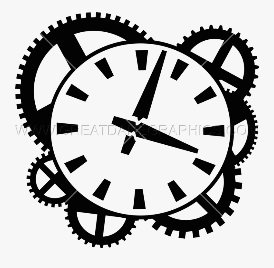 Gear Clipart Clock - Medal Of Honor Drawing, Transparent Clipart